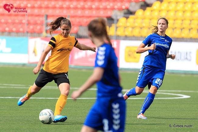 Baltijos moterų futbolo lyga sugrįš pavasarį