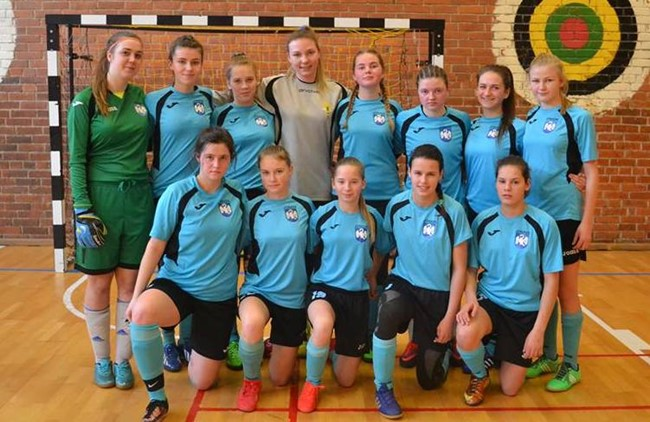 Moterų futsalo čempionate pirmauja Jonavos ir Vilniaus ekipos