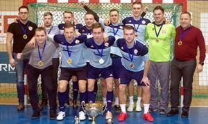 Finišavo Klaipėdos futsalo I lygos varžybos