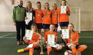 Dovilų merginos – Lietuvos mokyklų žaidynių čempionės