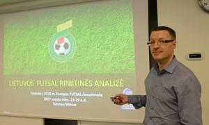 Diskutavo apie Futsal rinktinės pasirodymus