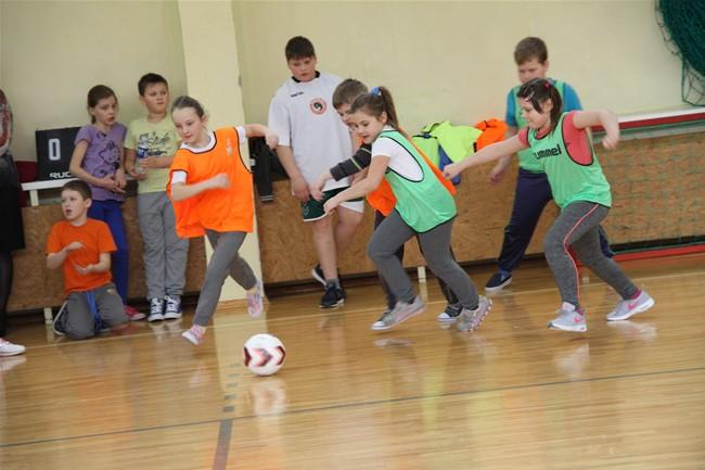 Ramygalos gimnazijoje praūžė 5-asis futboliuko turnyras