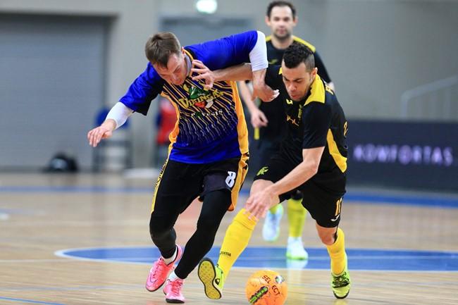 Betsafe-Futsal A lygos startui ruošiasi 10 komandų