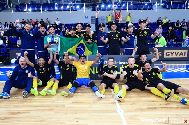 "Futsal taurės finale – ""Vyčio"" triumfas"