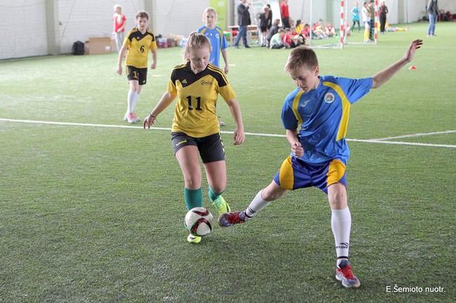 Vokiškame futbolo konkurse nugalėjo Alytaus mokykla
