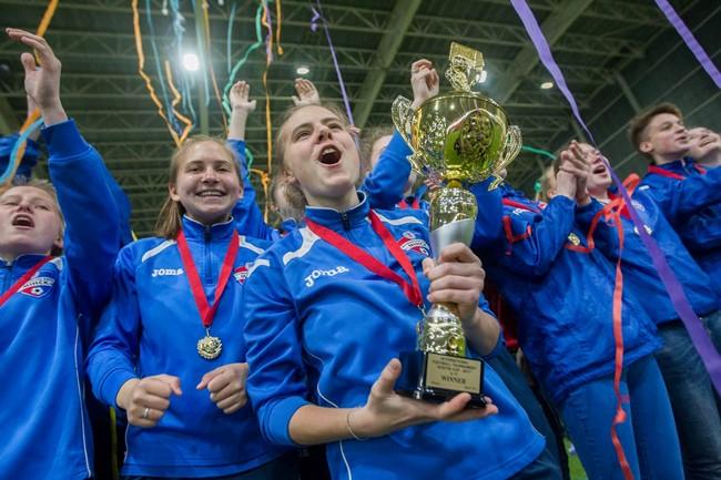 """Naujas """"Ateitis CUP"""" etapas – merginų turnyras"""