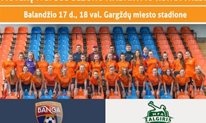 """M. Afonso: """"Moterų futbolo ateitis jau pradėta formuoti Gargžduose"""""""