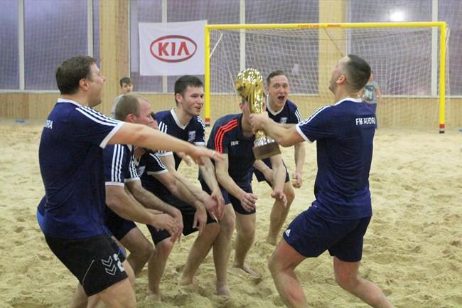 """Vilniaus paplūdimio futbolo čempionatą laimėjo """"Audros"""" klubas"""