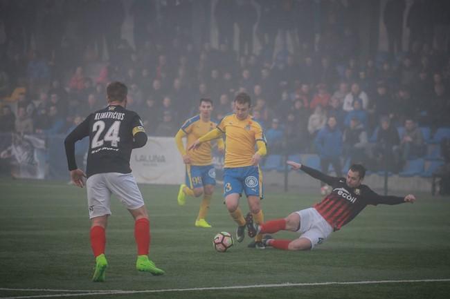 UEFA licencijos suteiktos keturiems iš penkių klubų