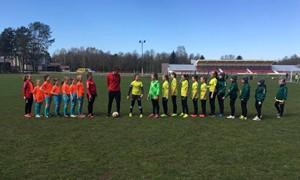 2017 m. LMFA mergaičių čempionatų 1 turo rezultatai