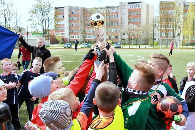 Auganti futbolo Pradinukų lyga įtrauks virš 3000 jaunųjų žaidėjų
