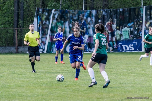 Sužaistas ketvirtadalis moterų A lygos sezono