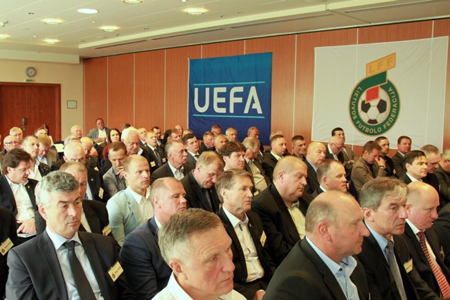 Neeilinė LFF konferencija vyks rugsėjo 30 d. Kaune