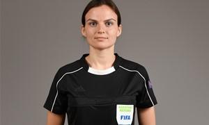 """Ieva Ramanauskienė – UEFA """"Euro 2022"""" atrankos rungtynių teisėjų brigadoje"""