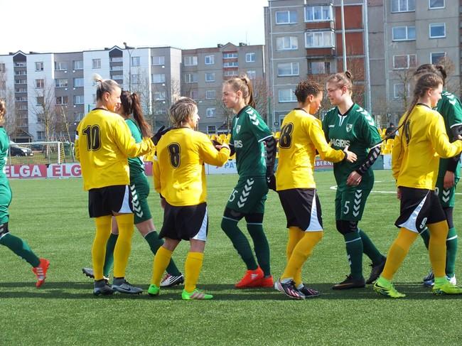 Baltijos moterų futbolo lyga startuos Šiauliuose