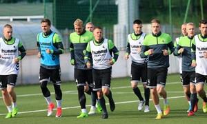 Rinktinė pradėjo pasiruošimą rungtynėms su Slovakija