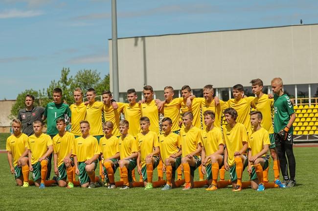 U-16 rinktinė dalyvaus turnyre Latvijoje