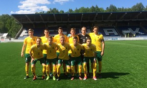 U-19 rinktinė Baltijos taurėje startavo lygiosiomis