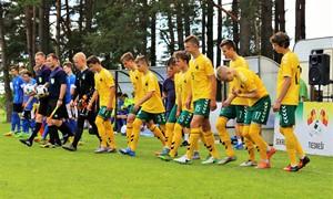 U-16 rinktinė dalyvaus turnyre Rusijoje