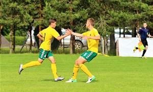 Turnyre Latvijoje – antrosios lygiosios