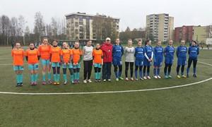 "Įpusėjo AAFF moterų ""Hummel"" lygos sezonas"