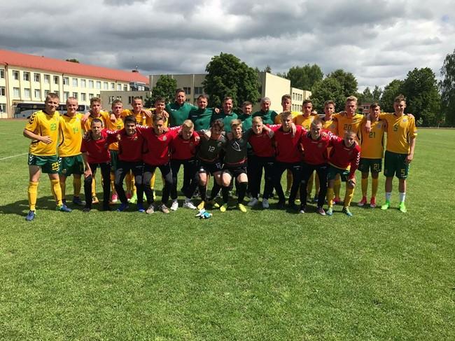 Varžysis Baltijos U-17 taurės turnyre