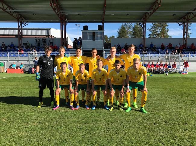Baltijos taurės starte – minimali nesėkmė