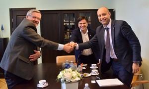 Gargžduose aptarė galimybes surengti jaunimo rungtynes su Lenkija