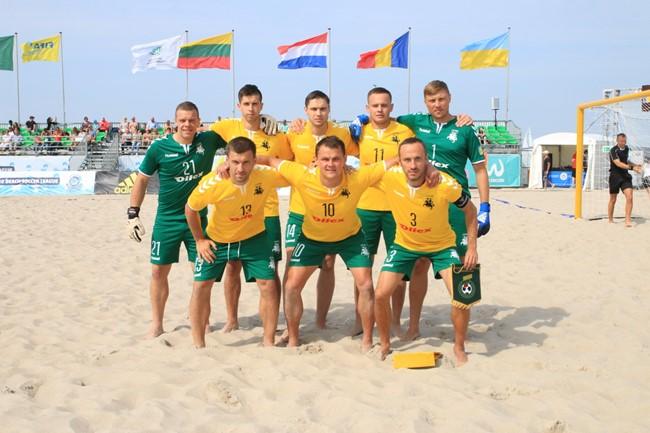 Europos rinktinių turnyre įveikė olandus