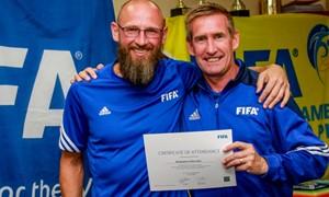 Iniciatyvos gaivinti futbolą Molėtuose ėmesi B. Zelkevičius