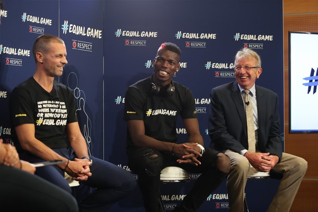 #EqualGame kampanija suvienijo pasaulio futbolo žvaigždes