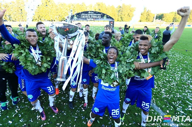 Vyksta komandų registracija į 2018 m. LFF taurės varžybas