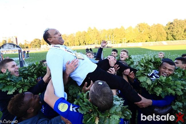 "M. Barreto: ""Pakeitėme Lietuvos futbolo žemėlapį"""