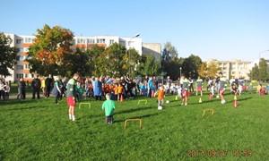 Panevėžio lopšelyje-darželyje – masinio futbolo šventė