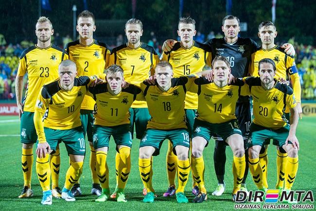 Lietuvos futbolo rinktinėje – trys naujokai