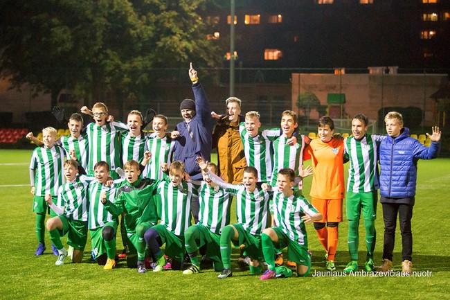 """FA """"Žalgirietis"""" tapo pirmąja šio sezono EJL čempione"""