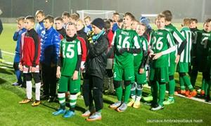 """LVJFA taurės turnyre triumfavo FA """"Žalgiriečio"""" žaidėjai"""