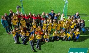 Dienos centro vaikams – įsimintinas vakaras su futbolu