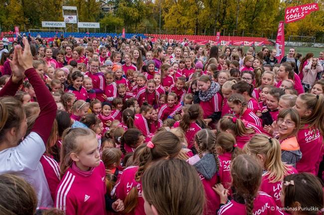 Merginų festivalyje Panevėžyje – dalyvių rekordas
