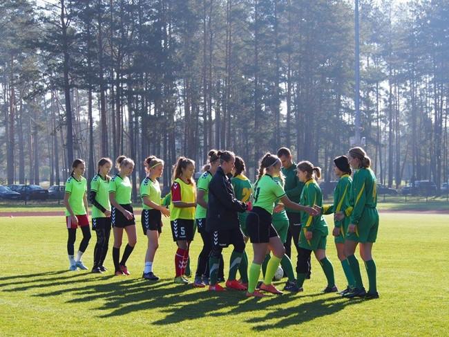 """Druskininkuose finišuos AAFF moterų """"Hummel"""" lyga"""
