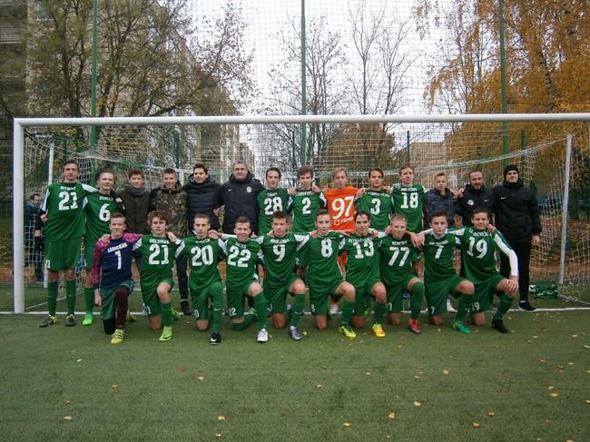 """FA """"Žalgirietis"""" iškovojo ir EJL U16 titulą"""