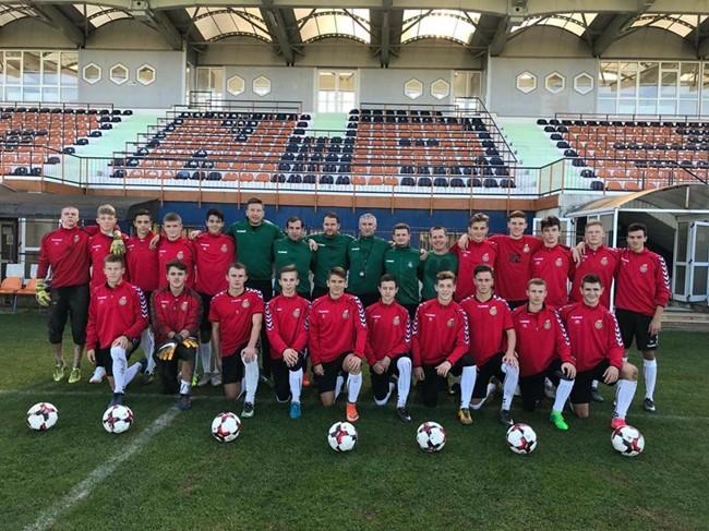 Atrankos turnyrą užbaigė pergale prieš Liuksemburgą