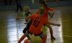 Vyksta registracija į 2018 m. mergaičių salės futbolo varžybas