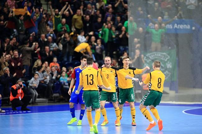 Šiauliuose pirmą kartą kovos dėl Baltijos futsal taurės