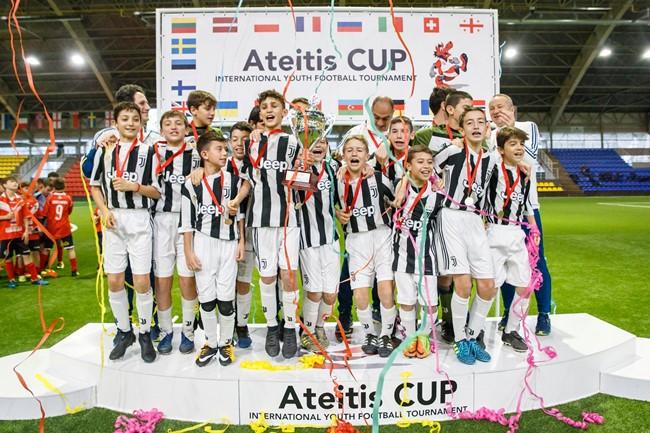"""""""Ateitis Cup"""" U-11  turnyre – """"Juventus"""" triumfas"""