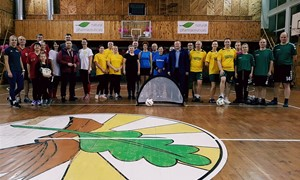 Mokytojai antrąkart susirungė turnyre Šilalėje