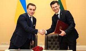 LFF pradėjo bendradarbiavimą su Ukrainos futbolo federacija