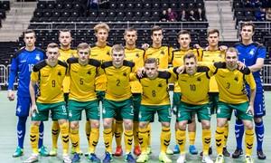 Futsal rinktinė išbandys jėgas su Baltarusija