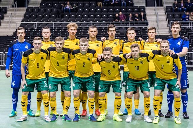 Lietuvos futsal rinktinė susitiks su Slovakija