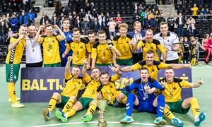 Baltijos futsal taurėje – istorinis Lietuvos triumfas